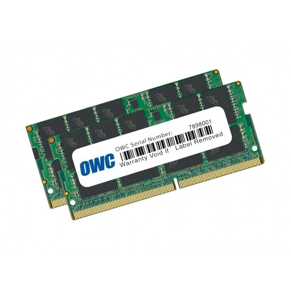 32.0GB (2 x 16GB) 2666MHz DDR4 SO-DIMM PC4-21300 SO-DIMM 260 Pin Memory Upgrade Kit, OWC2666DDR4S32P