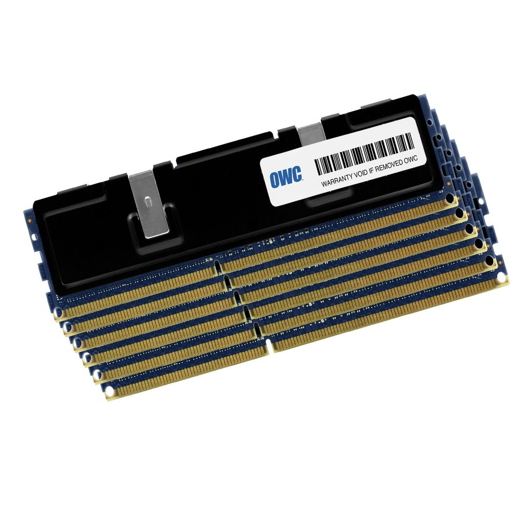 96.0GB (6 x 16.0GB) OWC PC8500 DDR3 1066MHz ECC FB-DIMM 240 Pin RAM - 8-Core Only, OWC85MP3S9M096K