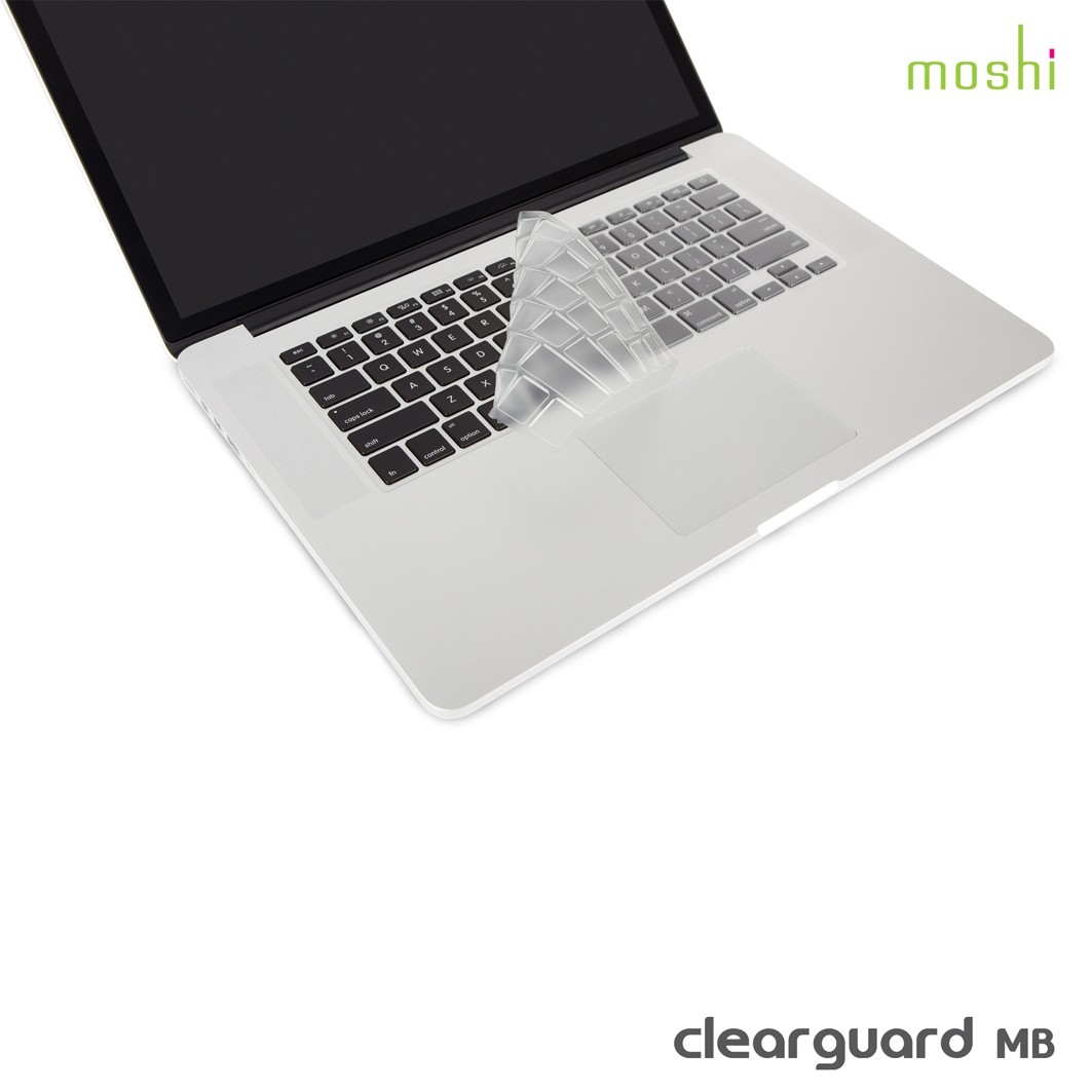 "MOSHI clearguard MB Keyboard Protector for Macbook Pro 13"", 15"", 17"""