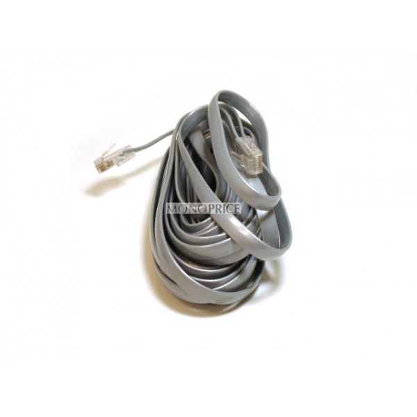 Phone cable, RJ-45 (8P8C), Straight - 7.6m for Data, RJ11-948