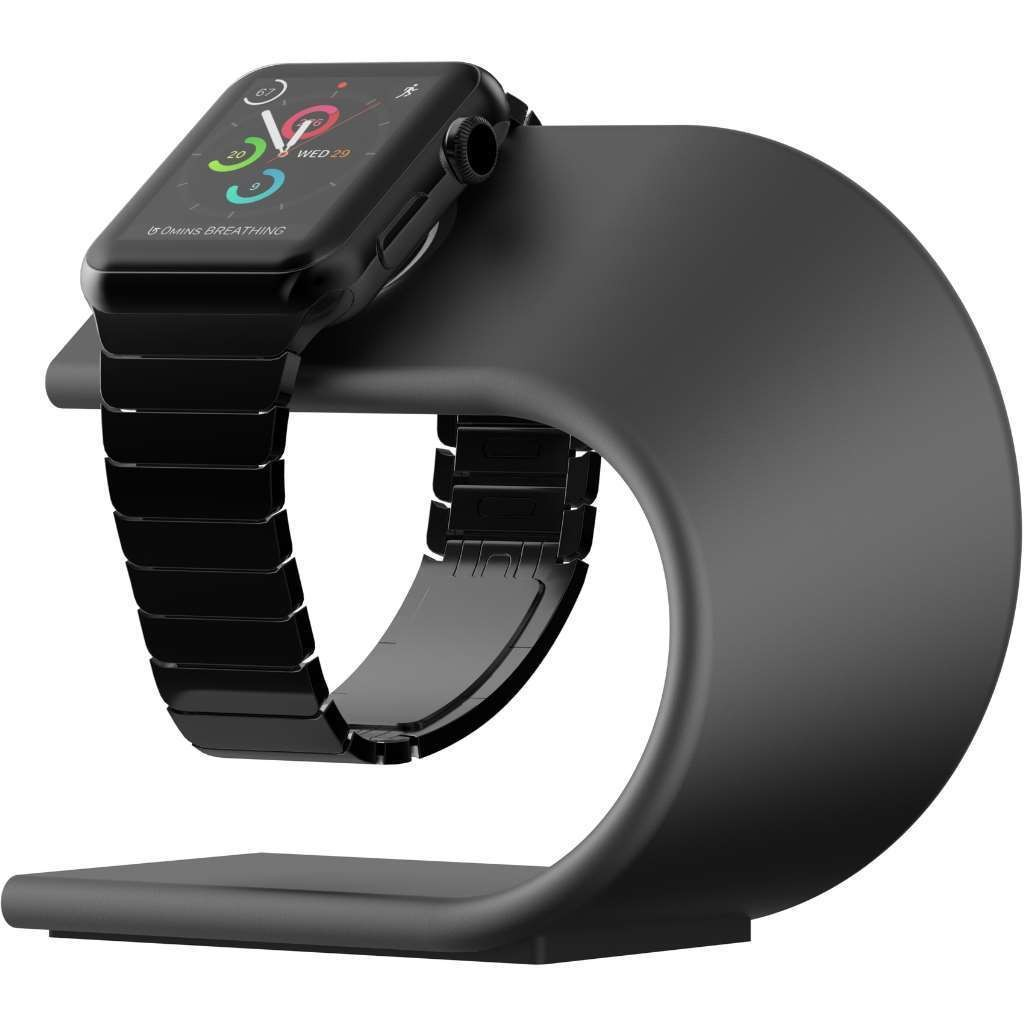 **DISCONTINUED** Nomad Stand for Apple Watch - Space Grey, STAND-APPLE-SG