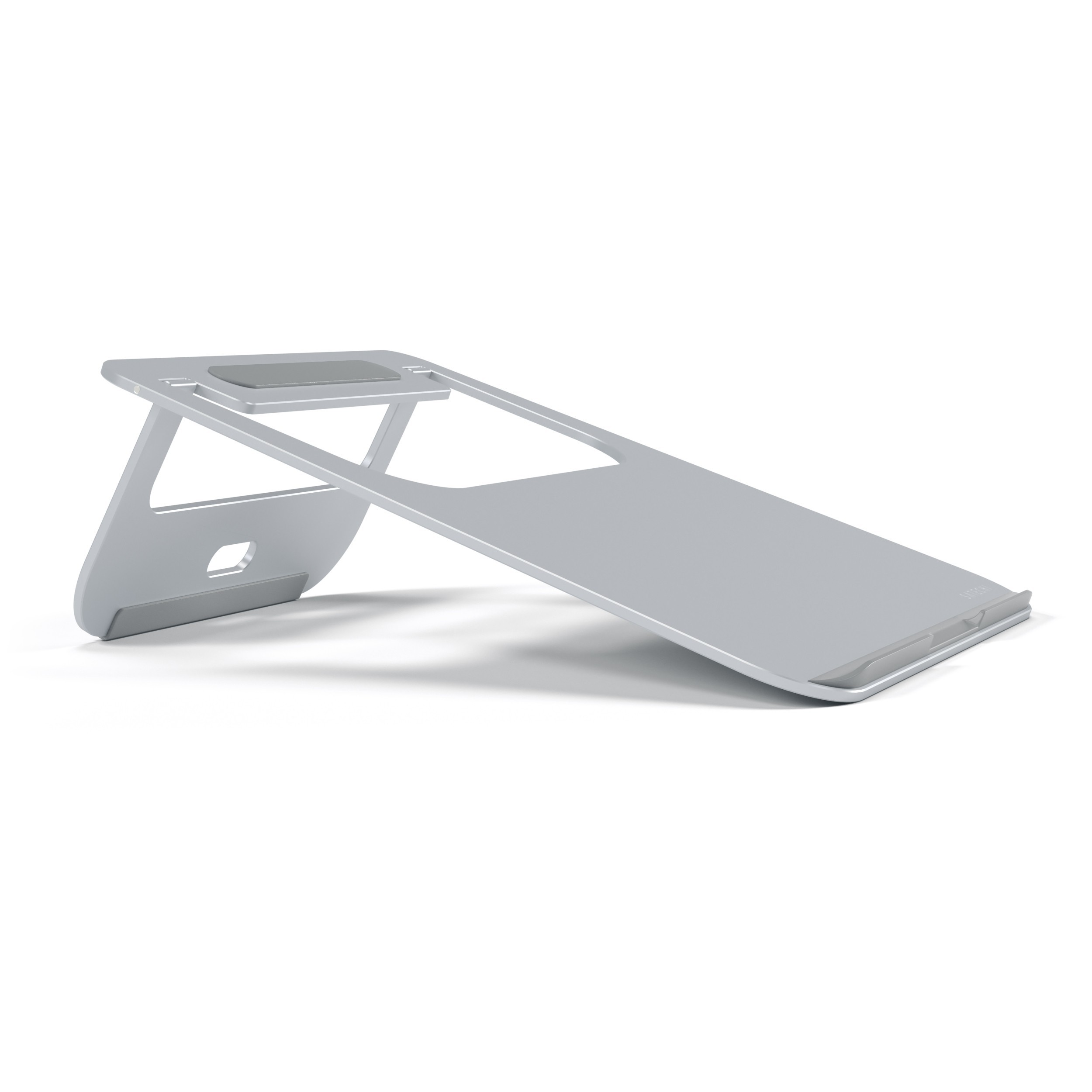 Satechi Lightweight Aluminum Portable Laptop Stand for Laptops, Notebooks, and Tablets - Silver, ST-ALTS