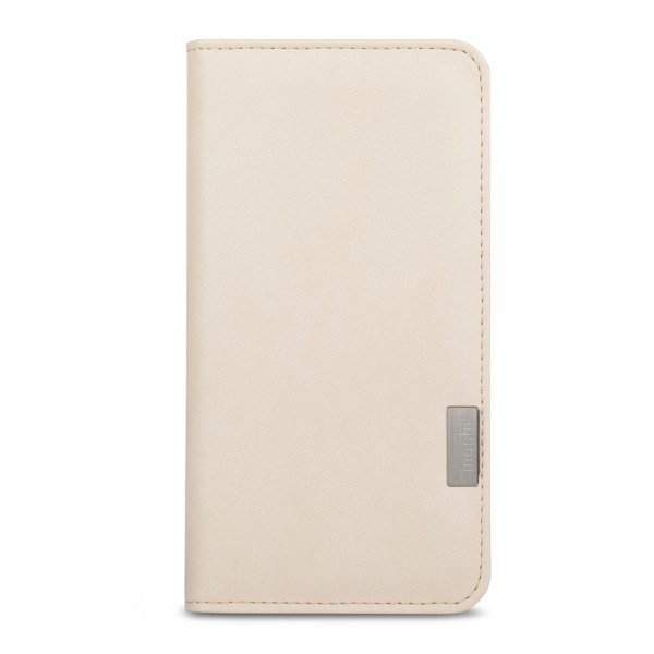 Moshi Overture Wallet Case for iPhone 8/7/SE (Gen 2) - Sahara White, 99MO091101