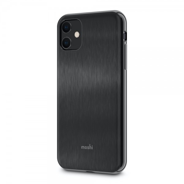 Moshi iGlaze Slim Hardshell Case for iPhone 11 - Black, 99MO113004