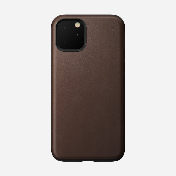 Nomad - Leather Case - Rugged - iPhone 11 Pro - Rustic Brown, NM21WR0R00