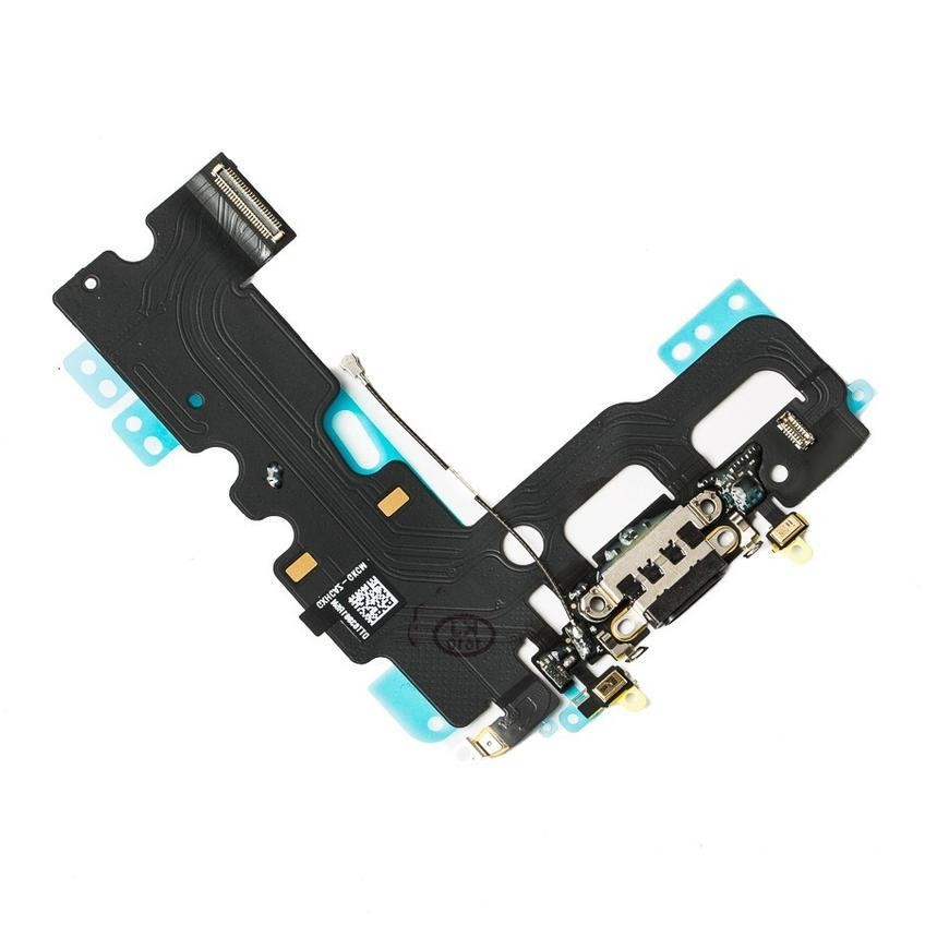 iPhone 7 Dock Connector, Brand New - Black, I7A-006