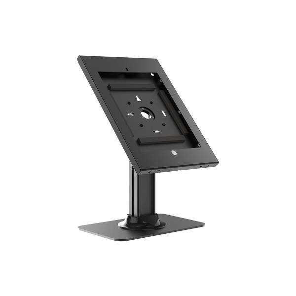 Monoprice Safe and Secure Tablet Desktop POS Point Of Sale Kiosk Display Stand for 12.9 iPad Pro - Black, 16067