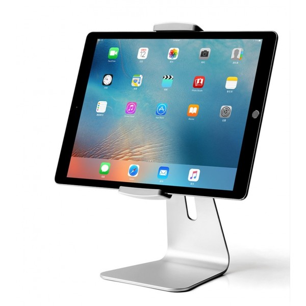 Viozon 360° Rotatable Aluminum Desktop Mount Stand for Tablets, B01ALPUFYO