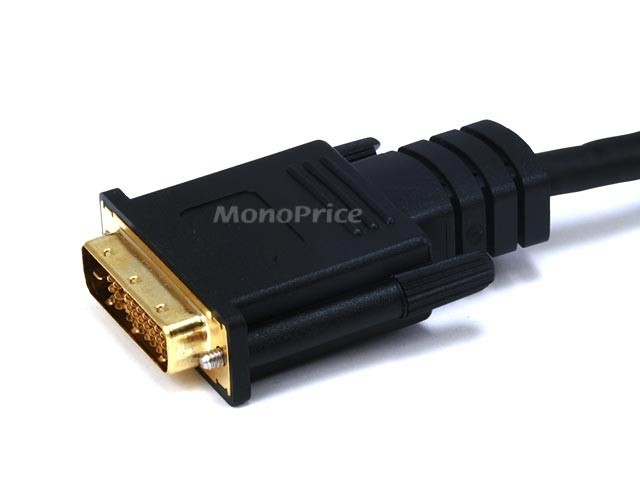 1.8m 28AWG HDMI to M1-D (P&D) Cable - Black, HDMI-M1-2696