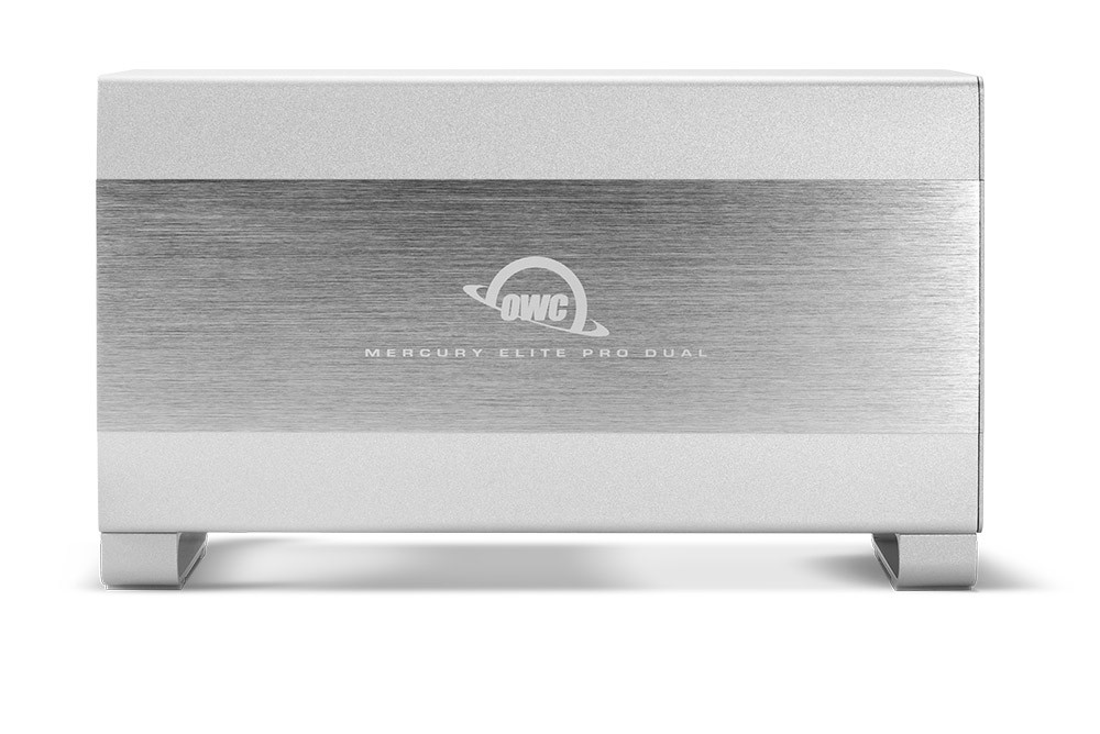 16.0TB OWC Mercury Elite Pro Dual RAID 7200RPM Storage Solution with USB 3.1 Gen 1 + FireWire 800, OWCMED3FR7T16.0