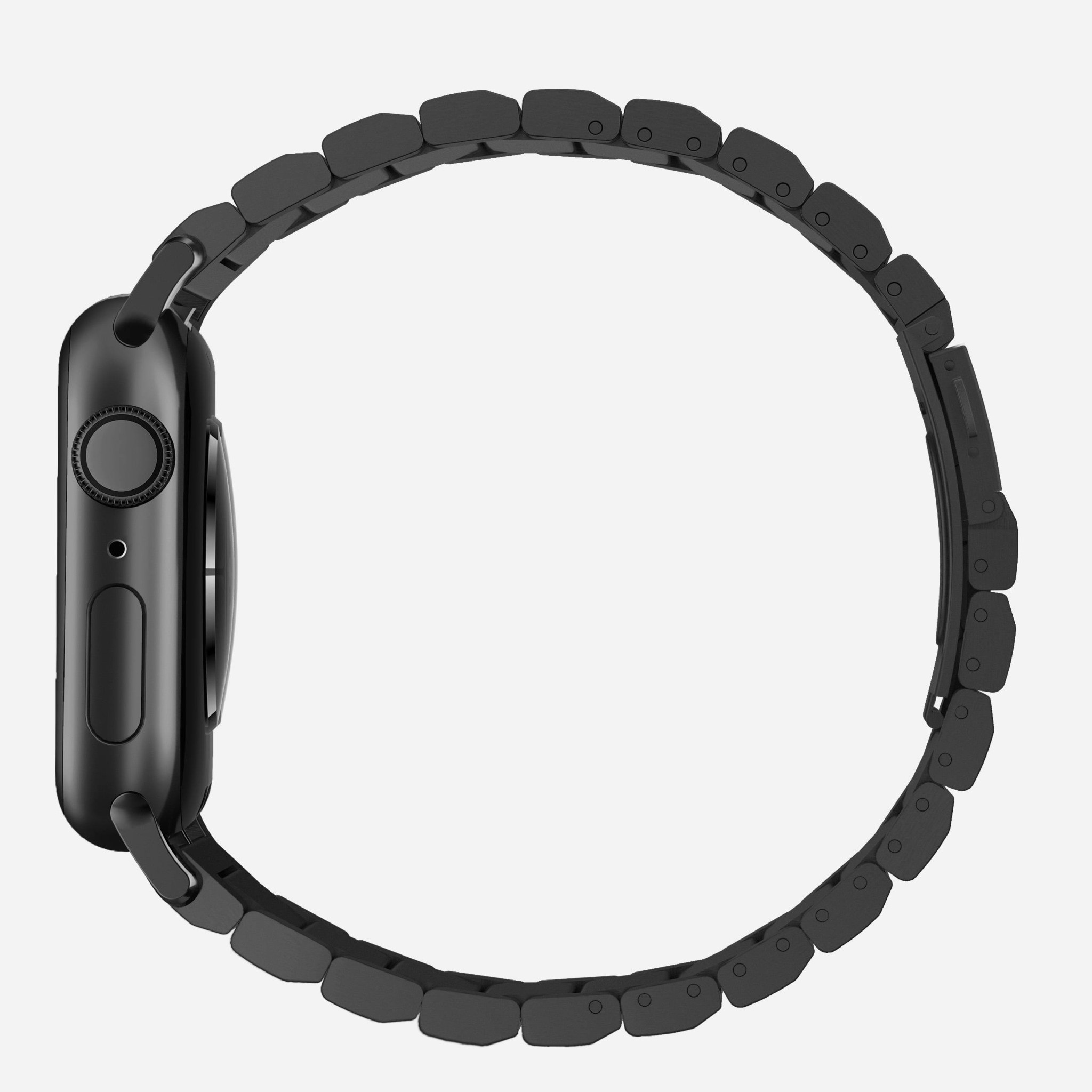 Nomad - Steel Band for Apple Watch 42/44mm - Black, NM1A4HB000