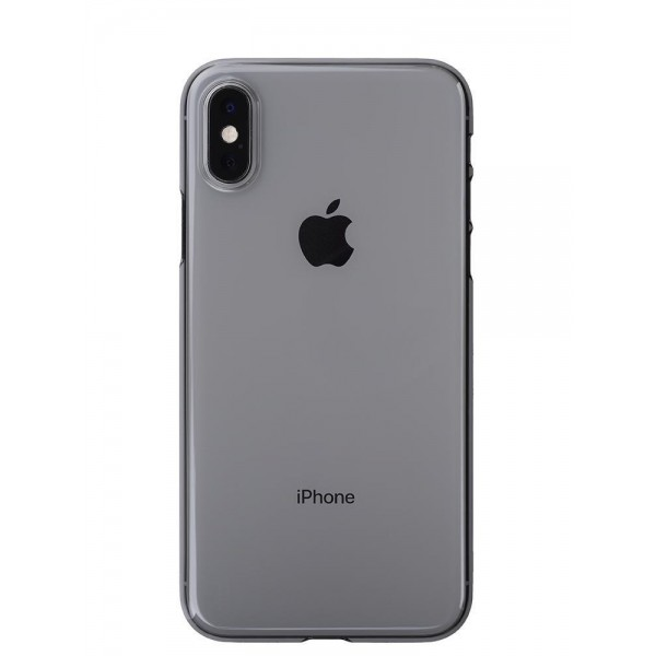Power Support Air Jacket for iPhone XS - Clear Black, PUY-73