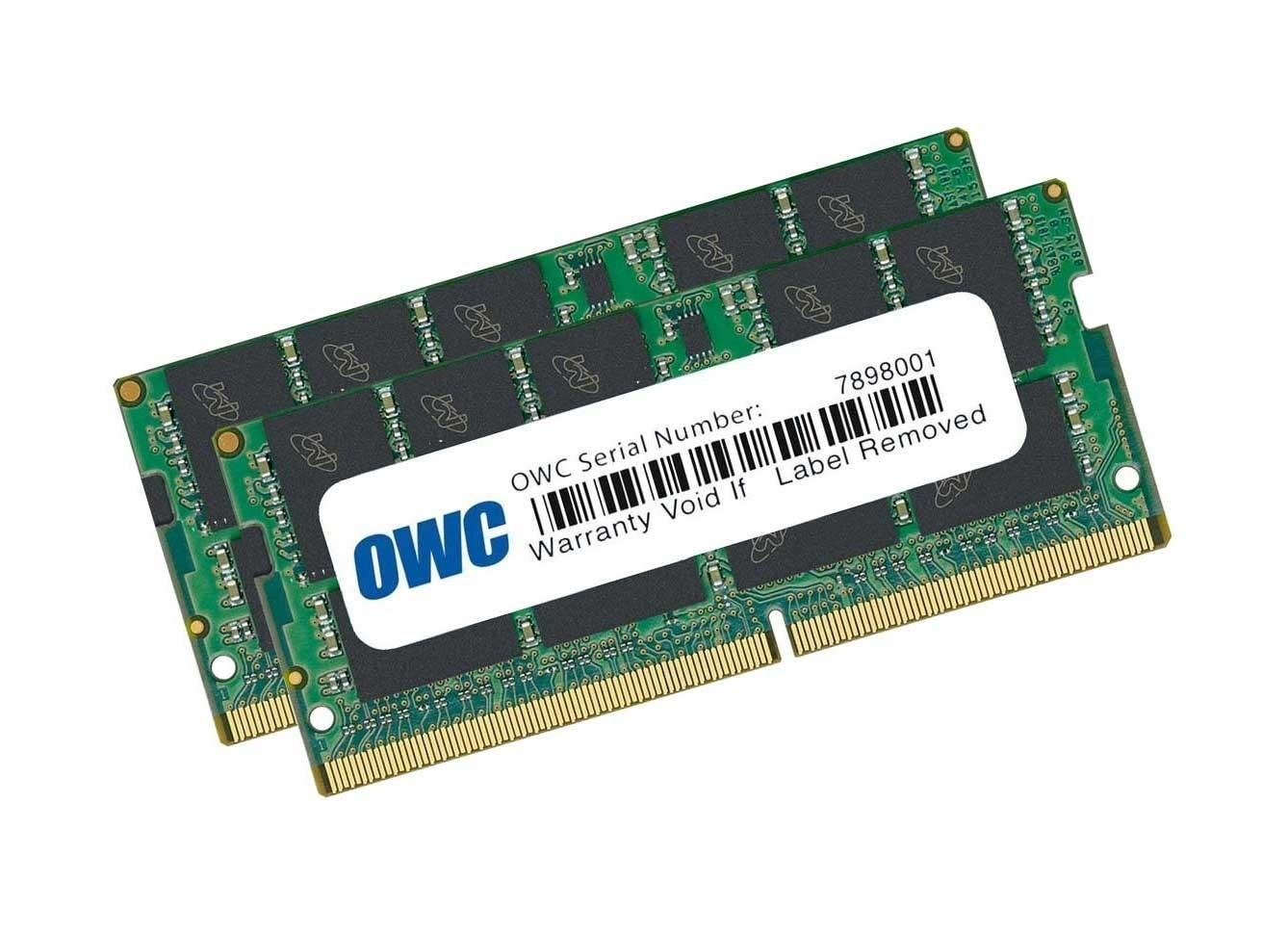 64.0GB (2 x 32GB) 2666MHz DDR4 SO-DIMM PC4-21300 SO-DIMM 260 Pin Memory Upgrade Kit, OWC2666DDR4S64P