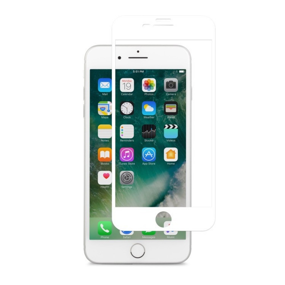 Moshi IonGlass for iPhone 8 Plus/7 Plus - White, 99MO096004