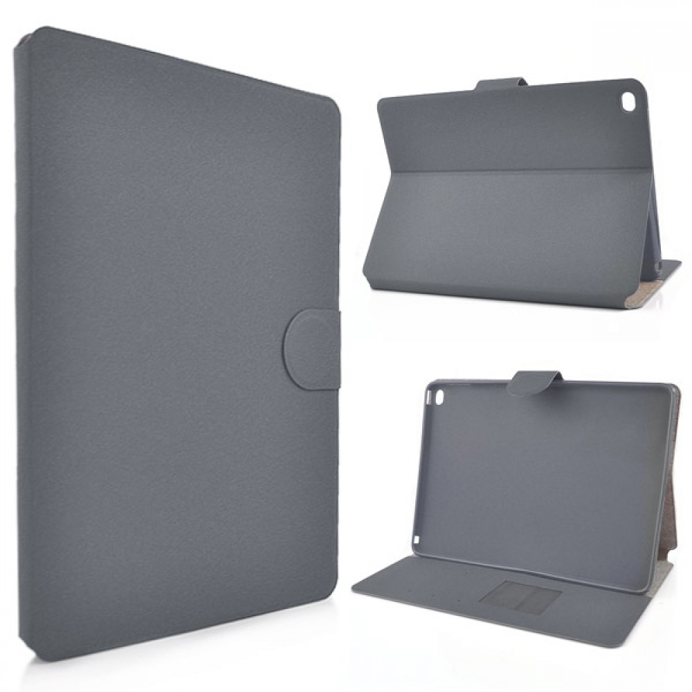 Flip Stand Cover Case with Card Slot for iPad Air 2 - Dark Grey, IPD6-FLIP-66358