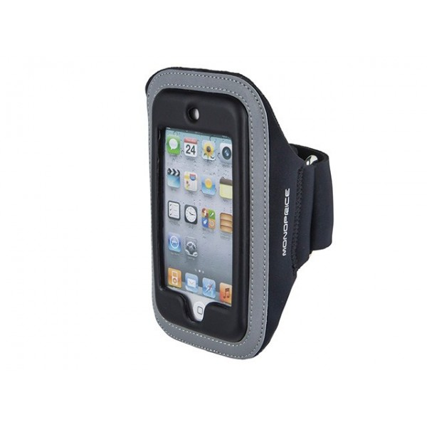 Neoprene Sports Armband for iPod Touch 5th Generation - SM/MED - Black, ARM-T5-10215