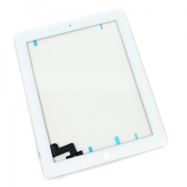 iPad 2 Front Glass/Digitizer Touch Panel Full Assembly, Part Only, New - White, IF112-002-2