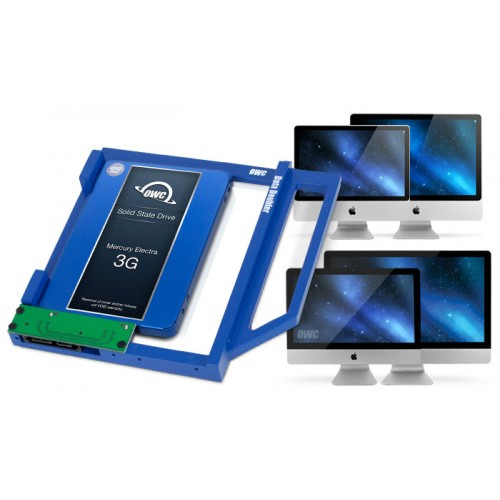 OWC Data Doubler Optical Bay Hard Drive/SSD Mounting Solution for iMac 2009-2011