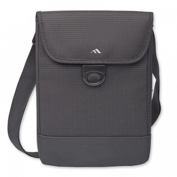 "Brenthaven Tred™ Vertical Messenger Bag w/ Strap for MacBook Air 13"" - Black, BR-2703"
