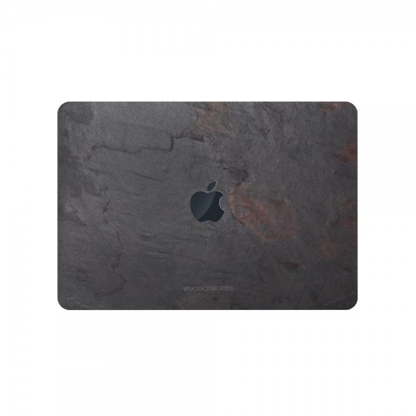 "Woodcessories EcoSkin Stone Case for MacBook 13"" - Volcano Black, sto041"