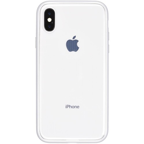 Power Support Shock Proof Air Jacket for iPhone X - Silver