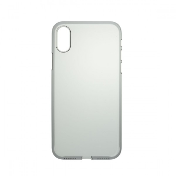 Power Support Air Jacket for iPhone X - Clear Black, PGK-73