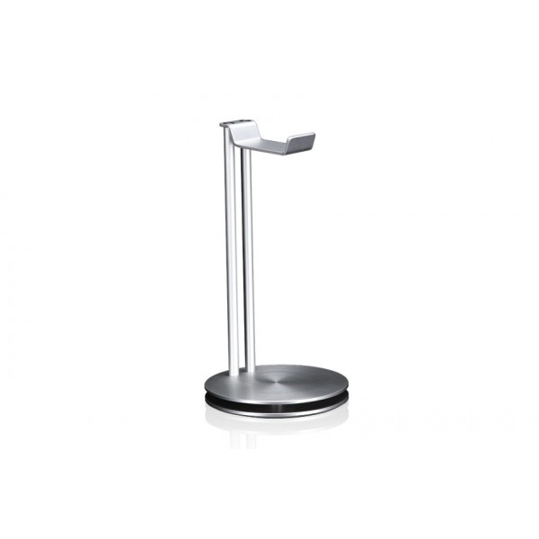 Just Mobile HeadStand High-Design Aluminum Headphone Hanger - Silver, HS-100