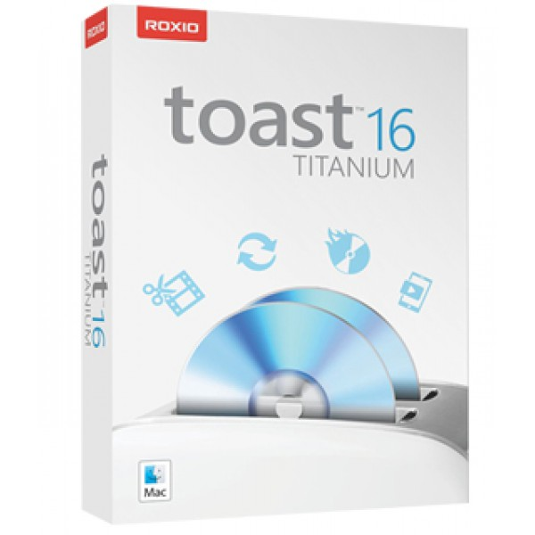 Roxio Toast 16 Titanium Complete Digital Media Suite for Mac, ROXTOT16MLEU01