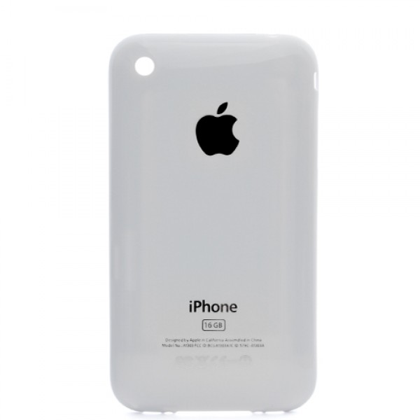 Apple iPhone 3GS 16GB Back Cover - High Quality (White)
