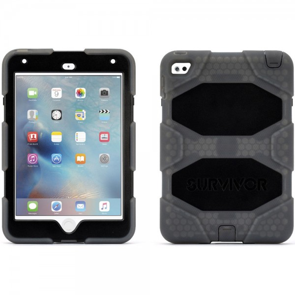 Griffin Technology Survivor All-Terrain Case for iPad mini 4 - Smoke, GB41360