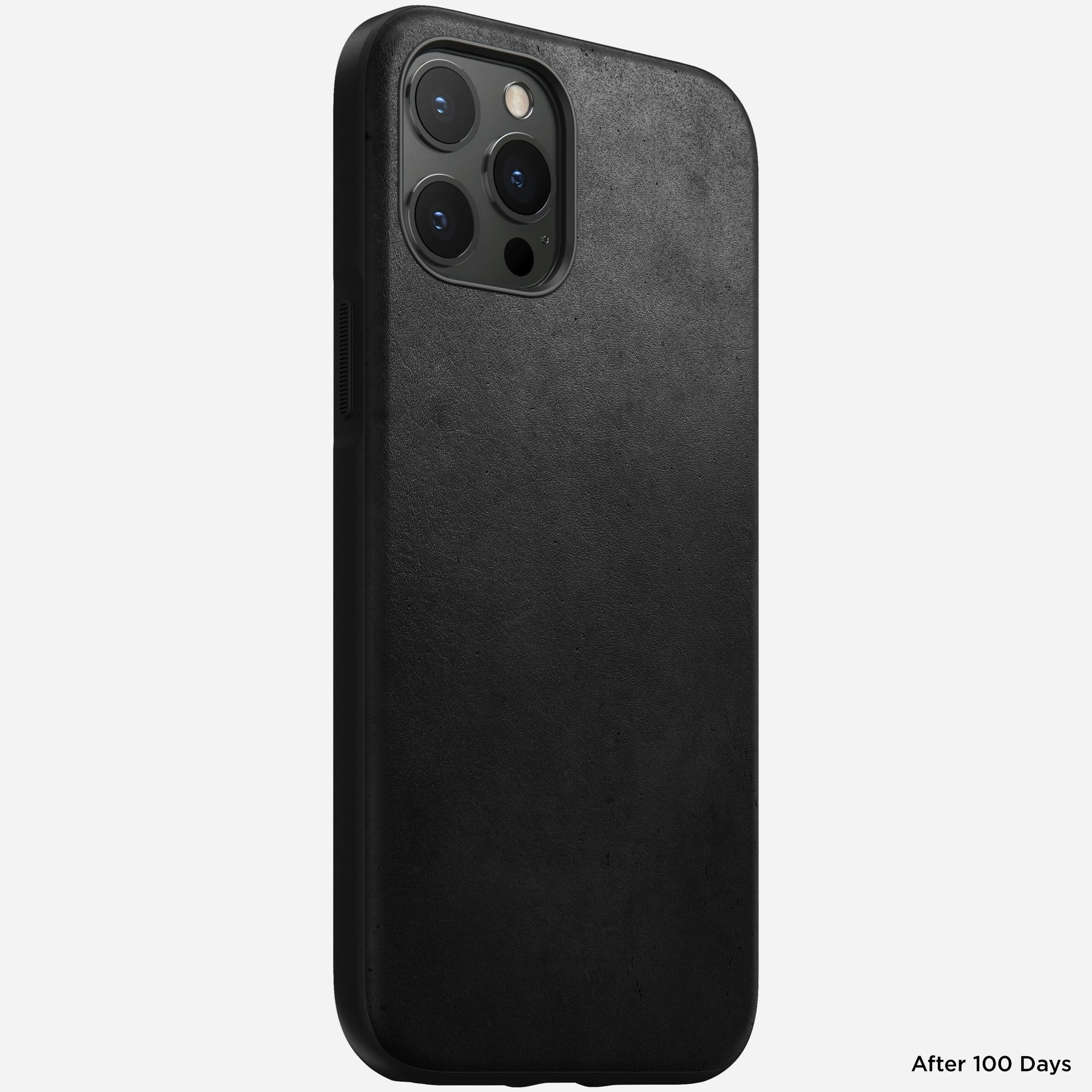 Nomad - Leather Case - Rugged - iPhone 12 Pro Max - Black, NM21H10R00