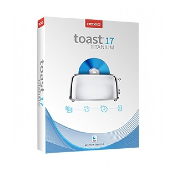 Roxio Toast 17 Titanium - w/Blu-ray Video Disc Authoring Plug-in, ROXRT17TMACPRO