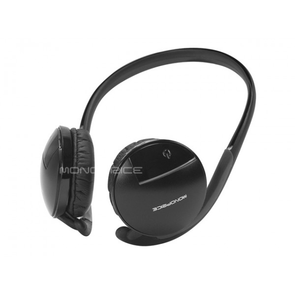 Bluetooth Wireless Stereo Headset - Black, HEAD-8582