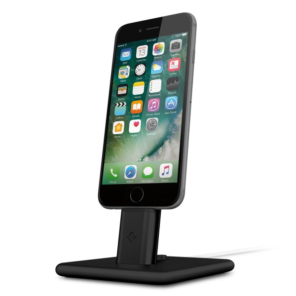 Twelve South HiRise 2 for iPhone & iPad - Black, 12-1625
