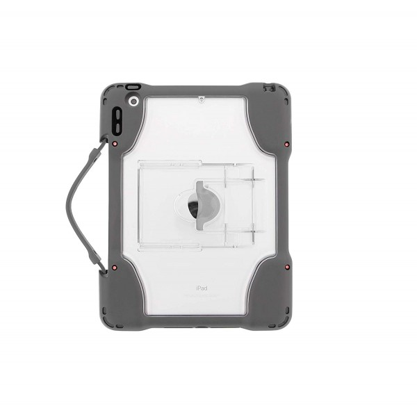 """Brenthaven Edge 360 Carry Case for iPad 9.7- Designed for iPad 9.7"""" 2018 / 2017 (iPad 6th / 5th Gen) - Grey, 15BH-APP-E360CC-IPAD97"""