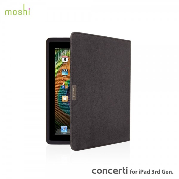 Moshi Concerti for the iPad 3/4 - Grey , *IP34-CONC-GRAY