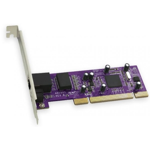 Sonnet Technologies Presto Gigabit Ethernet PCI Card 10/100/1000 with Link Aggregation. New, with 3yr Sonnet Warranty