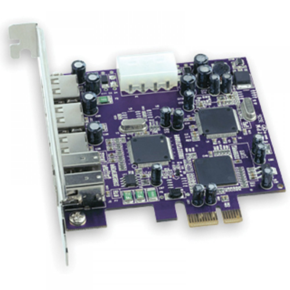 Sonnet Technology Tango Express Combo FireWire 400/USB 2.0 Card for PCI Express Based Systems
