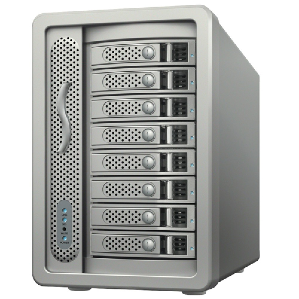 Sonnet Technology 24.0TB Fusion DX800 RAID Expansion Chassis for the DX800RAID Solution