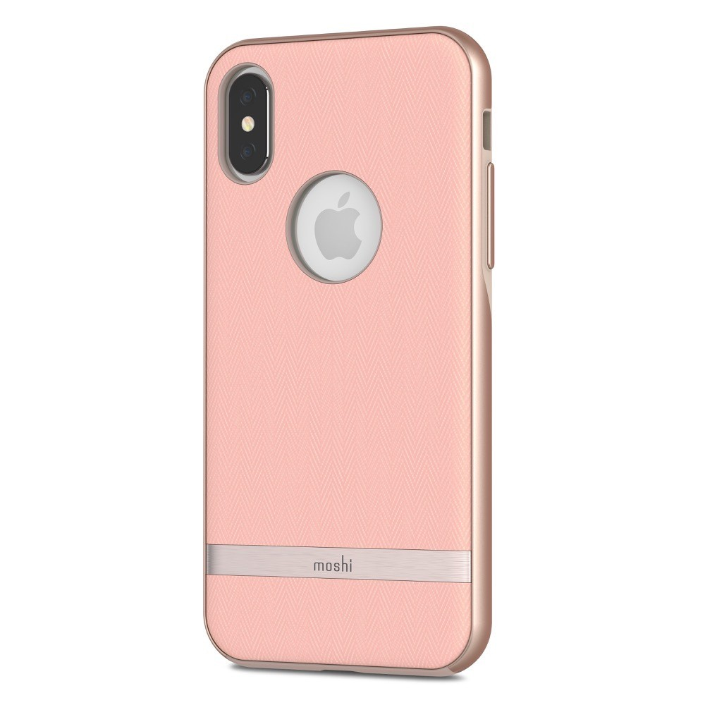 MOSHI Vesta for iPhone X/Xs - Blossom Pink, 99MO101302