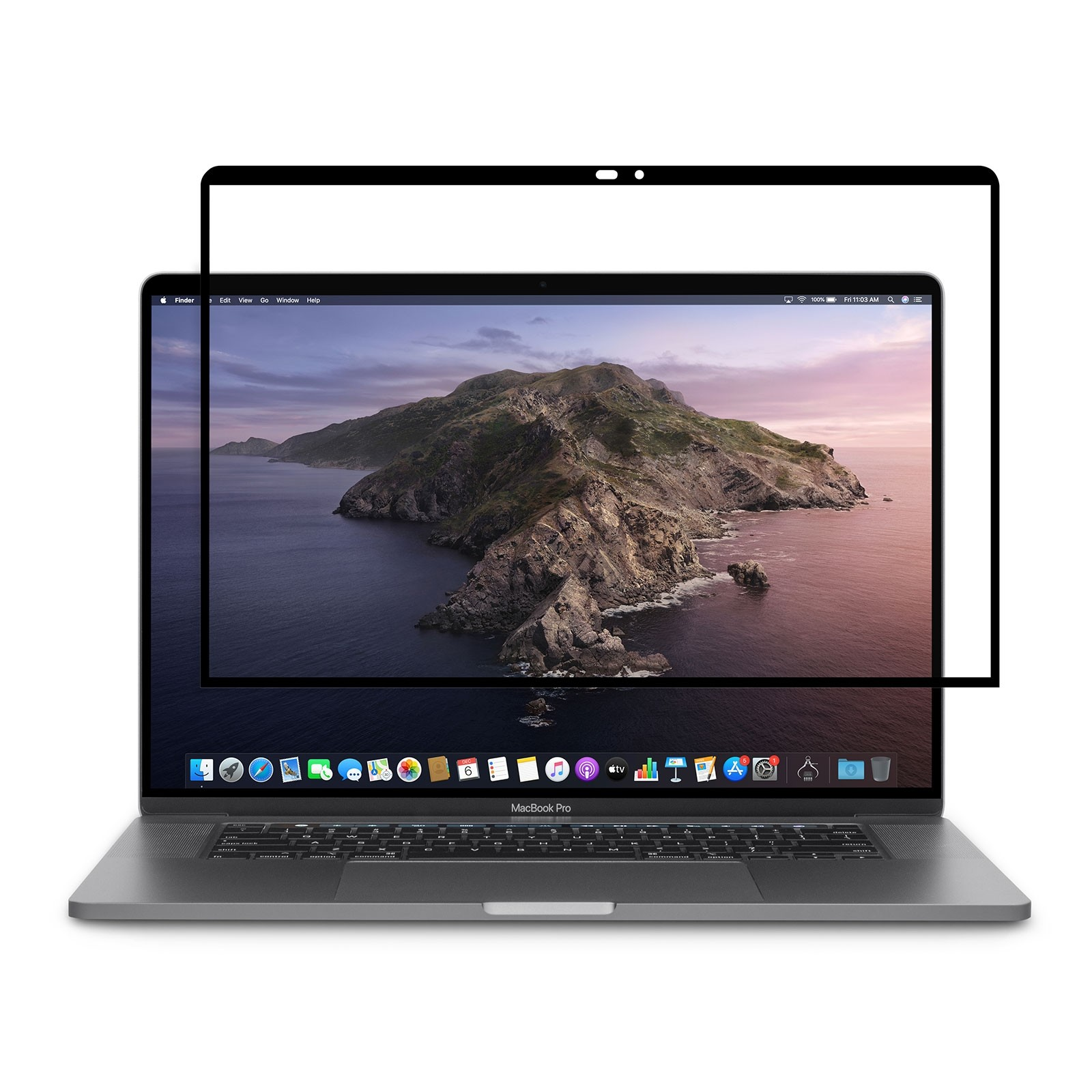 """Moshi iVisor AG Anti-glare and Reusable Screen Protector for MacBook Pro 16"""", 99MO040912"""