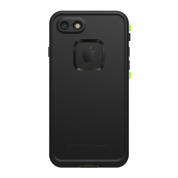 LifeProof FRE Case Suits iPhone 8/7/SE (Gen 2) - Black/Lime, 77-56788