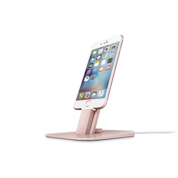 Twelve South HiRise Deluxe for iPhone / iPad mini - Rose Gold, 12-1516