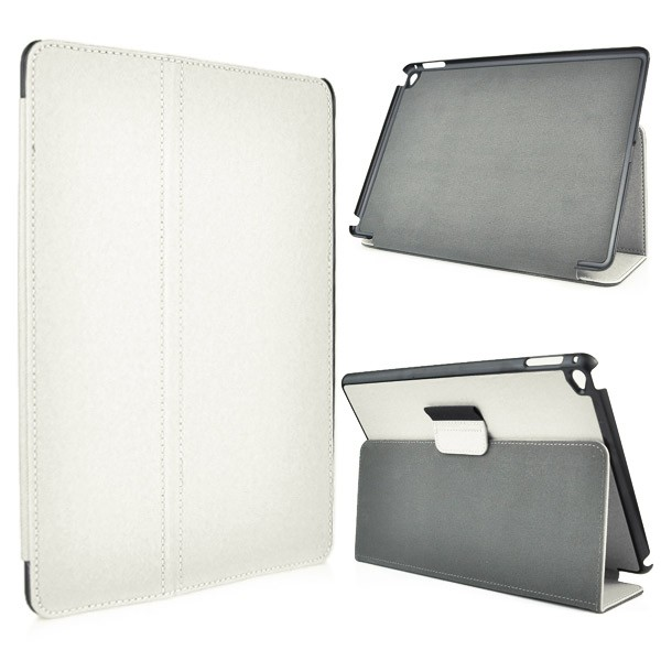 Leather Flip Case for iPad Air 2 - White, IPD6-FLIP-65960