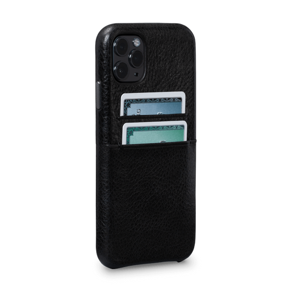 Sena - Snap On Wallet Case for iPhone 11 Pro - Black, SFD448NPUS