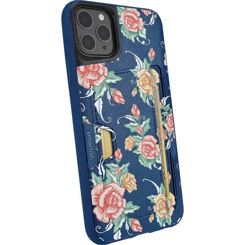 Smartish iPhone 11 Pro Max Wallet Case Vol. 2 - Credit Card Holder (Silk) - Flavor of The Month