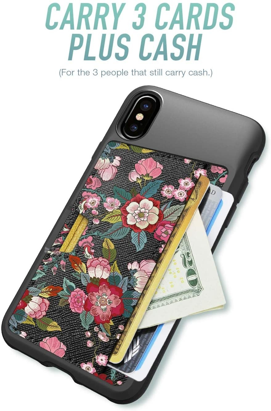 Smartish - Wallet Slayer Case Vol. 2, Credit Card Holder for Apple iPhone X/XS (Silk) - Flavor of The Month, QX-FEATURED1
