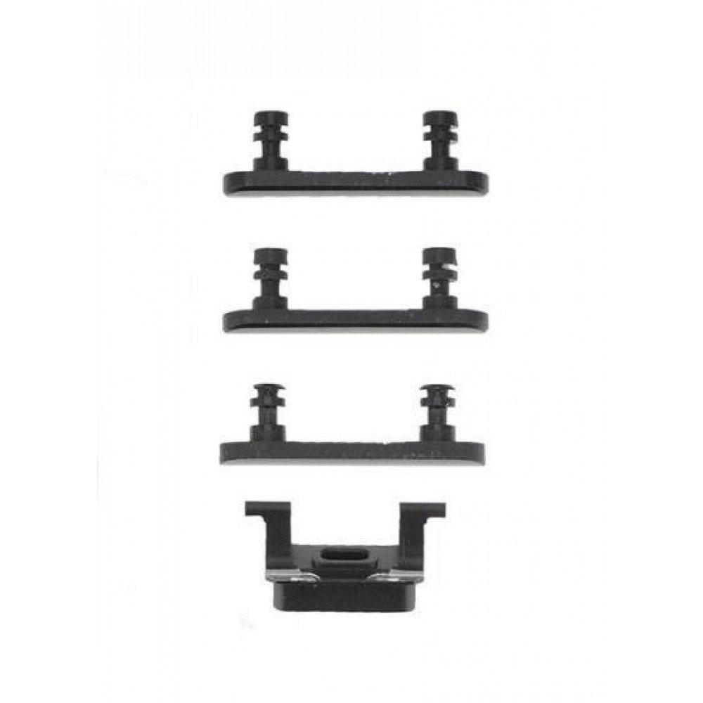 iPhone 7 Plus Side Key Buttons - Black, I7B-023
