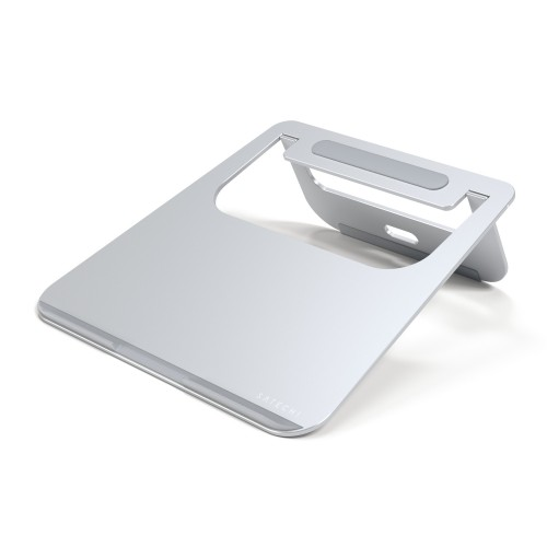 Satechi Lightweight Aluminum Portable Laptop Stand for Laptops, Notebooks, and Tablets - Silver