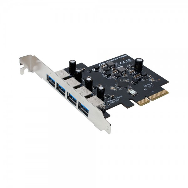 NewerTech MAXPower 4-Port USB 3.1 Gen 1 PCIe Controller Card For Mac Pro, NWTMXPCIE4U3